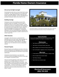 Homeowners Insurance White Paper by Blackwell Insurance