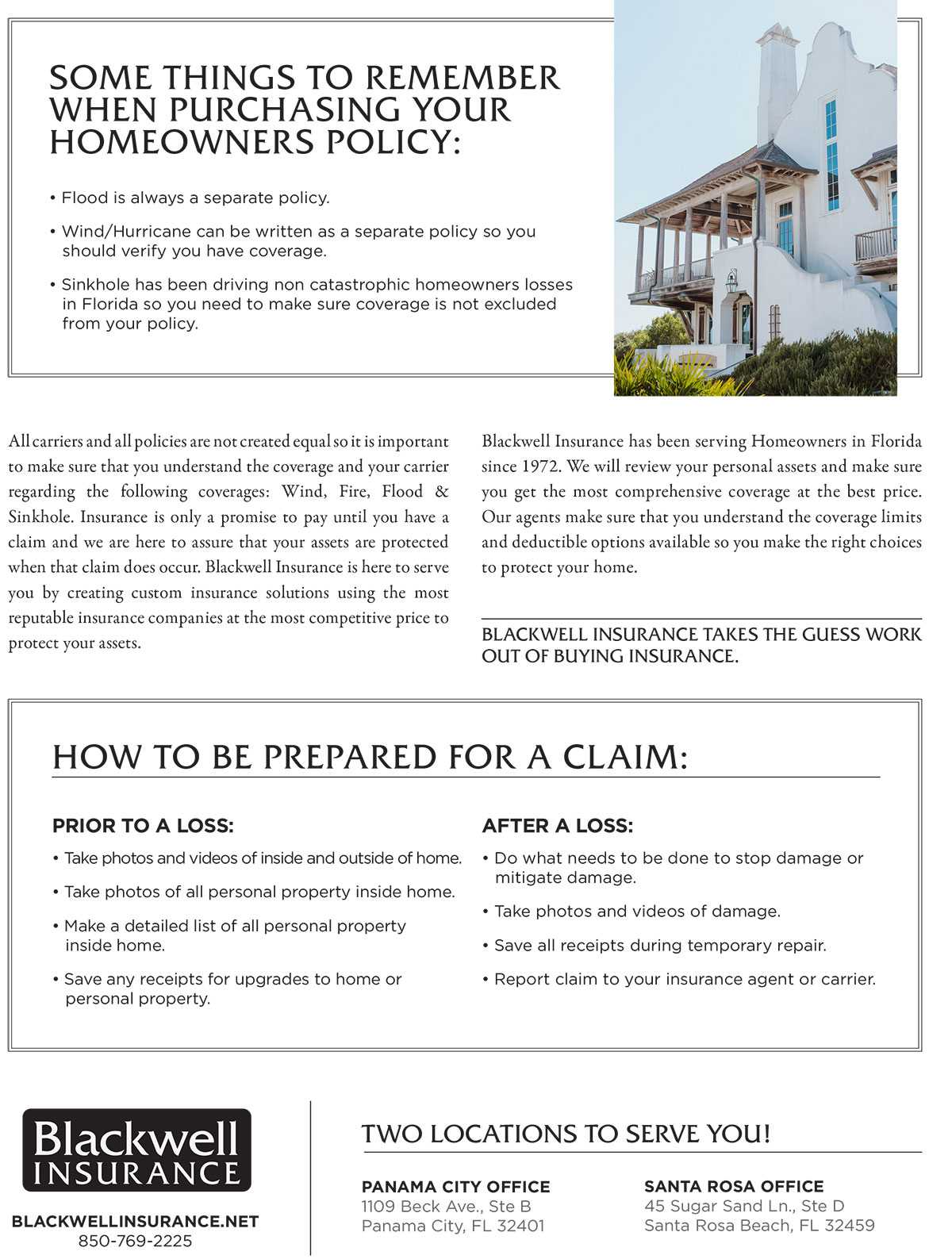 Panama City Homeowners Insurance Buyers Guide p2