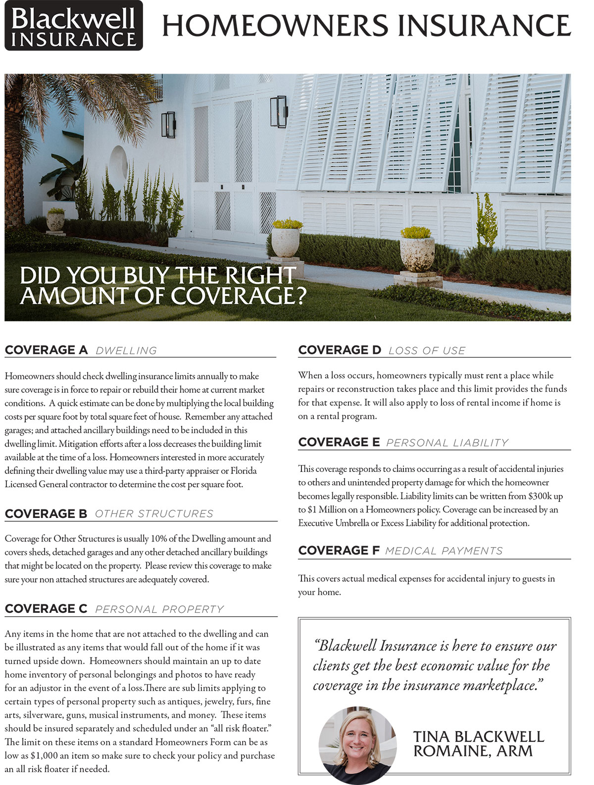 Panama City Homeowners Insurance Buyers Guide