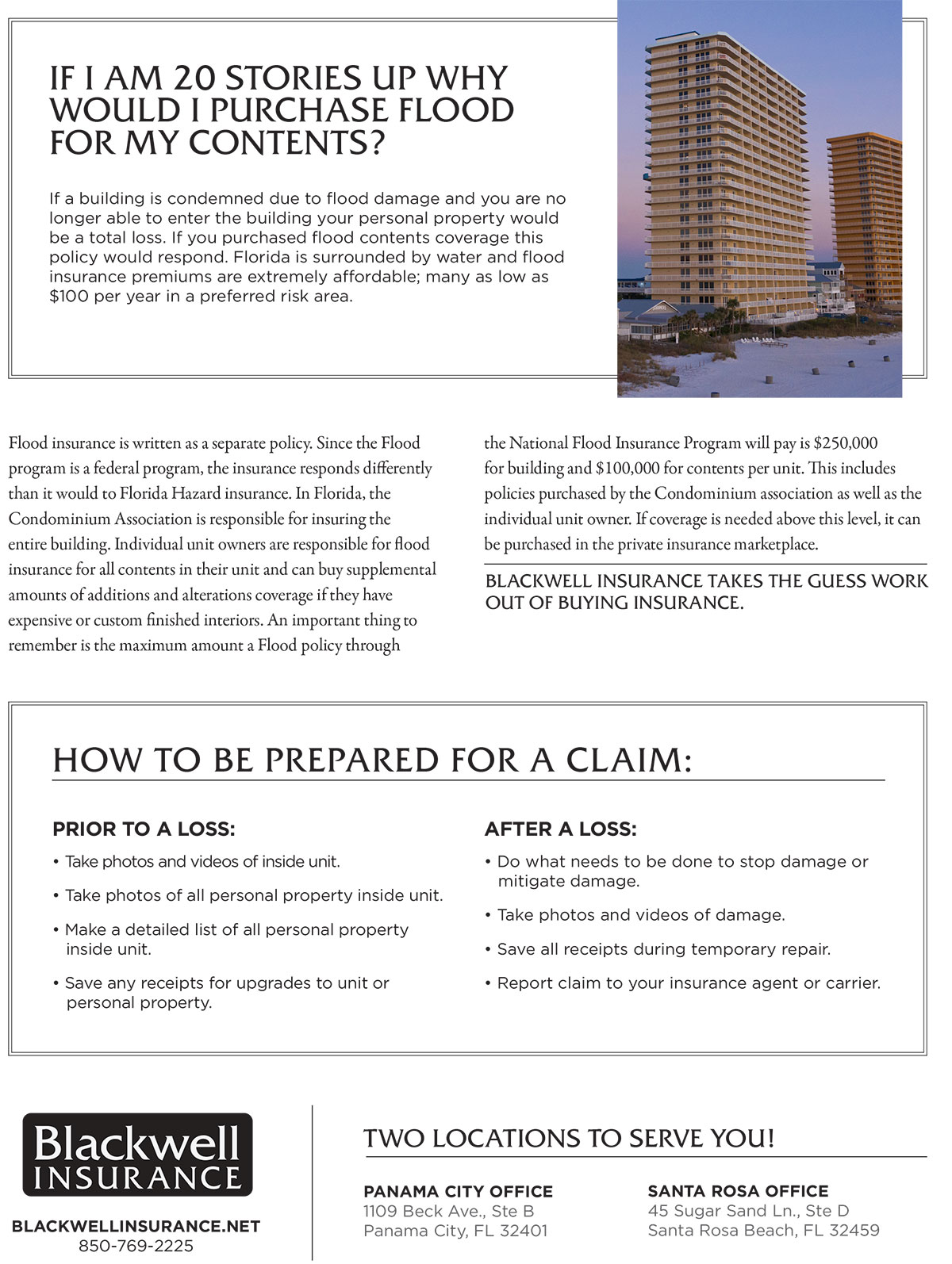 Panama City Condo Owners Insurance Guide p2